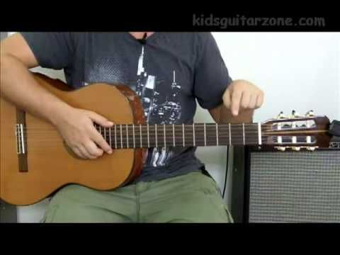 Kids Guitar Zone - Learn to play the guitar for Free. - Lesson 1  This is a great way to learn how to play the guitar--made especially for kids!