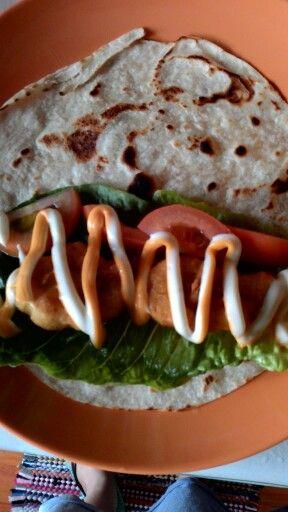 Tortilla nuget: