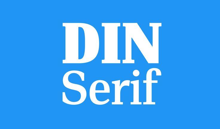 PF DIN Serif