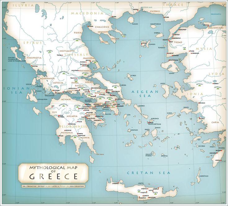 183 Best Mythological Messes Redux Images On Pinterest: 183 Best Images About Maps Of Greece On Pinterest