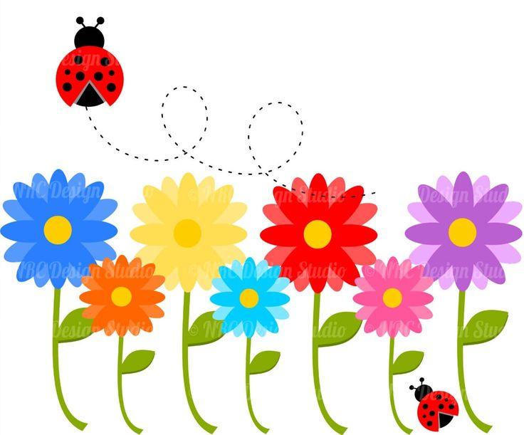 81 best flores images on pinterest art flowers artificial flowers rh pinterest com spring flowers clip art free printable spring flowers clip art images