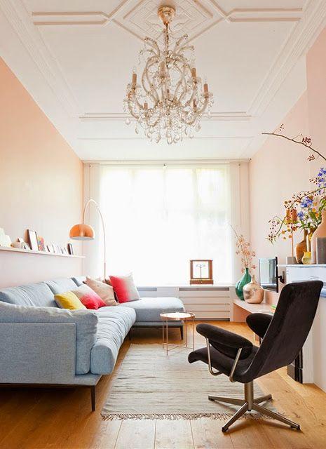 33 best salon en longueur images on Pinterest Home ideas, My house - idee plan maison en longueur