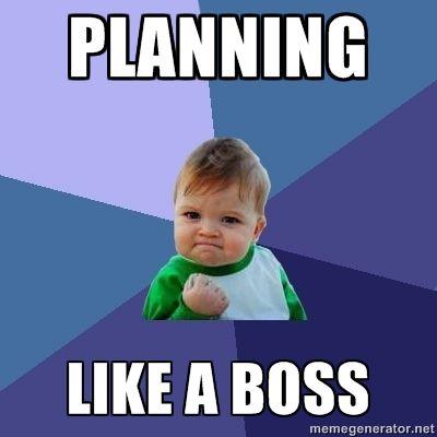 Image result for planner meme