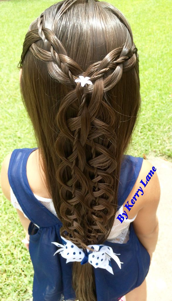55 best Rope braided hairstyles images on Pinterest   Hair dos     4 Strand Rope Twist Braid