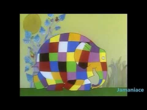 Anytime Tales - Elmer - YouTube -- Kindergarten lesson?
