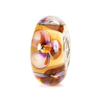 Amber Violets Bead - Trollbeads.com
