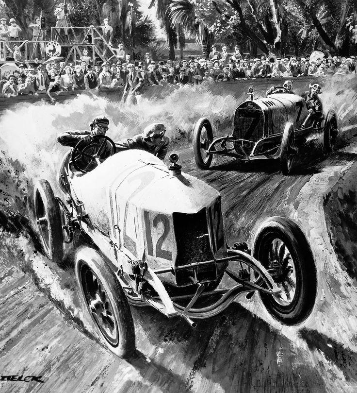 Chet richards midget auto racing