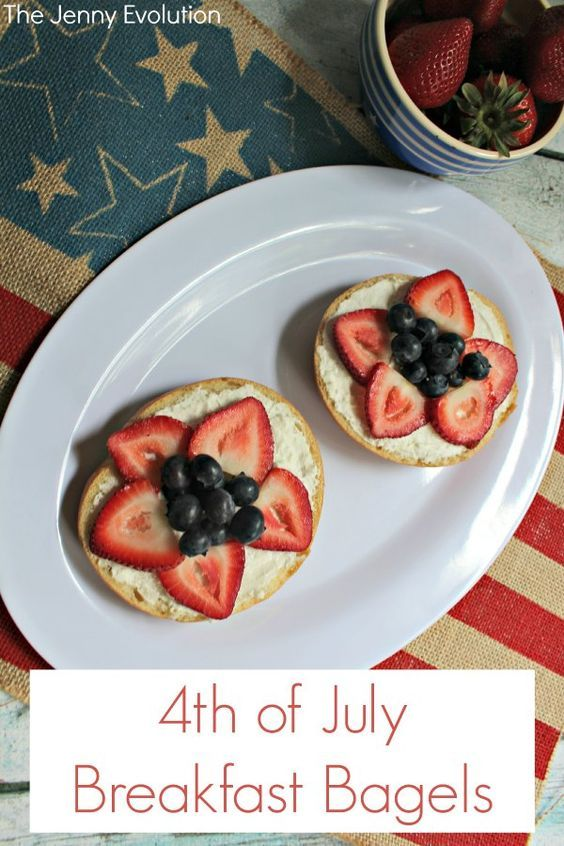 Start the 4th of July off right with this delicious and patriotic breakfast