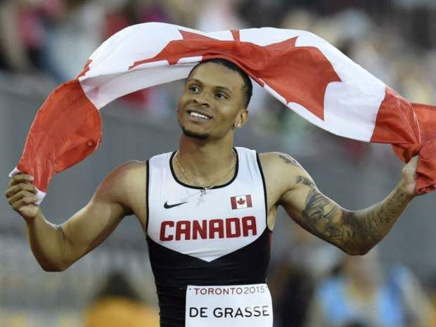 Canadian sprint sensation Andre De Grasse will try to win three medals in Rio.