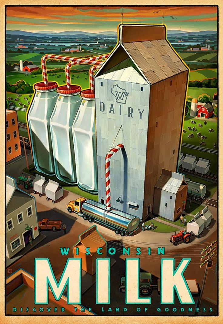 Wisconsin Milk Marketing Board posters