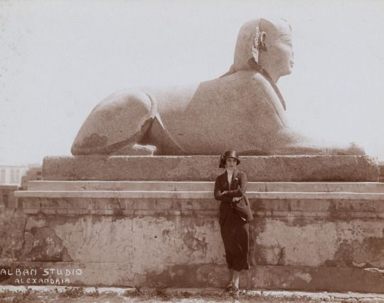 Anna Pavlova in Egypt in 1923