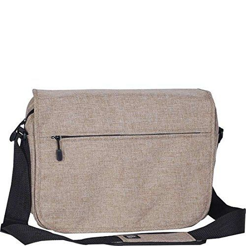 Bagiva Stylish Laptop Bag Shoulder Casual School Travel Pack(Tan,One Size)