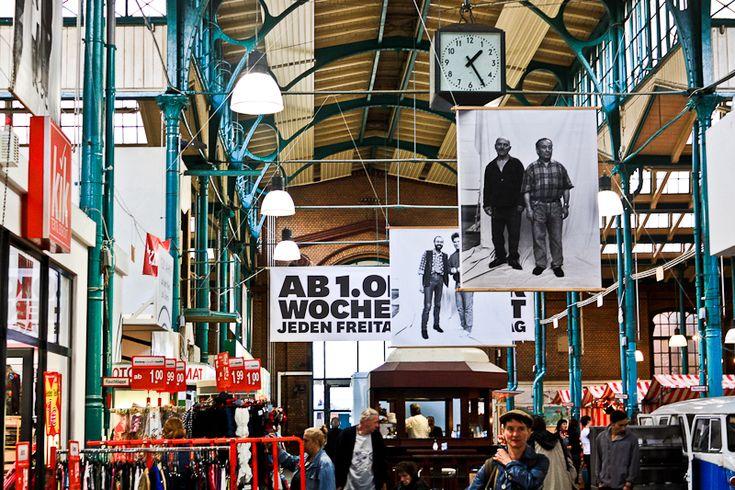 Markthalle Neun | food & ingredients, Eisenbahnstraße 42, U Goerlitzer Bahnhof/ Schlesisches Tor #shopping #Berlin