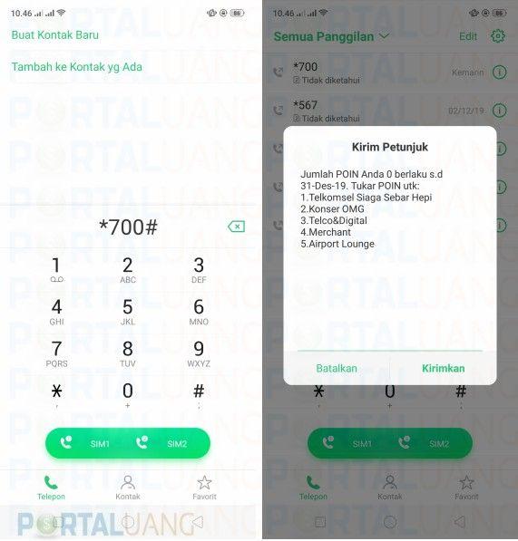 Cara Cek Poin Telkomsel Pengetahuan Membaca Portal