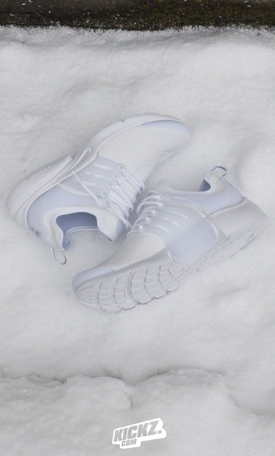 New Nike Air Presto styles dropped in! Freshest example is the white leather Presto Premium! Cop yours now at KICKZ.com!