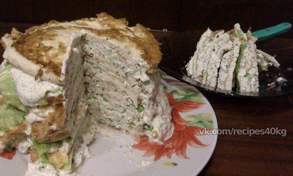🔹 Белковый торт с куриной грудкой для худеющих 🔹 / Живой лёд глобальных вопросов