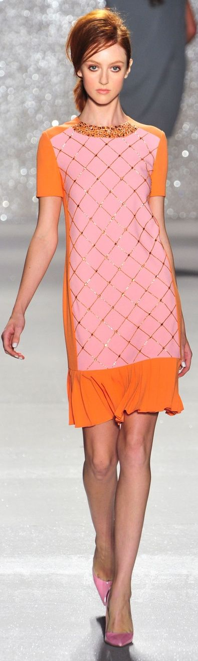 Pamella Roland at NYFW Spring 2014   The House of Beccaria~