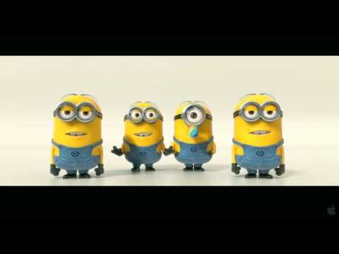 MINIONS!!!!! There's going to be a 2nd movie? I can't wait!! MINIONS!!!!!!!