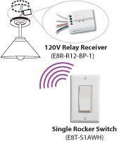 Wireless Light Switch: Buy EnOcean Compatible Battery-free Wireless Light Switch