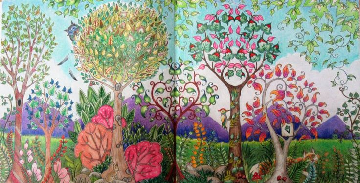 The Forest In Morning Inspiration PETA Hewitt Done Prismacolor Premier Pencils And Pastels