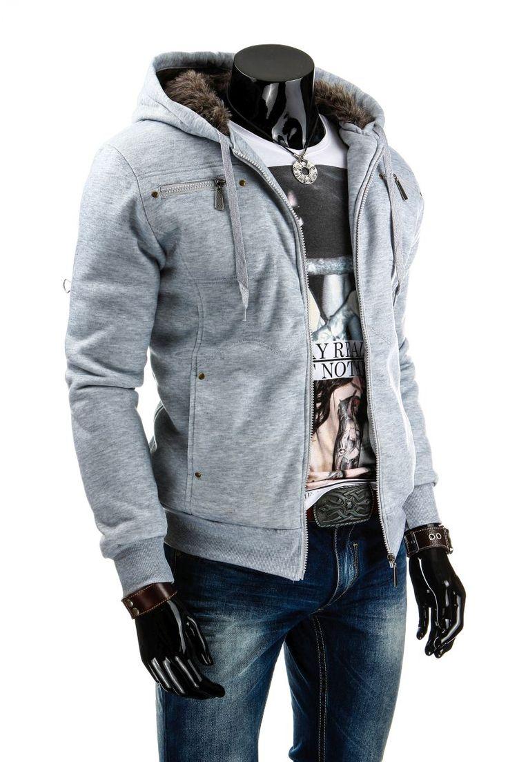 Nowość! Bluza z kapturem ocieplana futerkiem. Must Have na jesień!! Dostępna w czterech wersjach kolorystycznych: http://dstreet.pl/product-pol-3919-Bluza-bx0786-.html  #dstreet #bluza #jesień