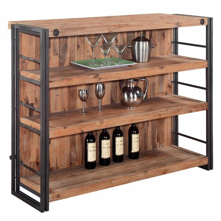 20 Eye Catching Under Stairs Wine Storage Ideas: Bar Furniture, Moe's Home Collection