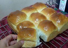 Hokkaido Milk Bread/roti kasur sobek no butter lembut