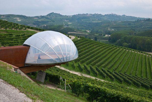 Cantine di design, la mostra di architettura di Merano