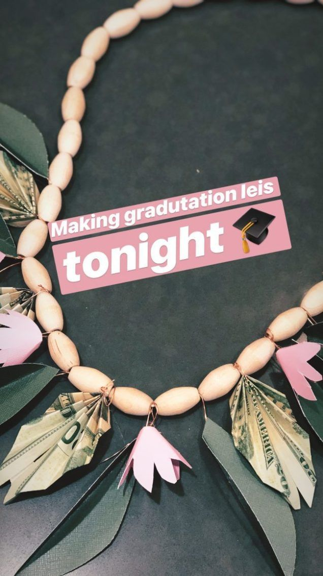 Make a Graduation Money Lei Necklace – the perfect gift!
