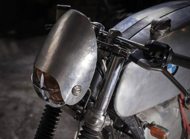 Silver Bug - BMW 1978 R100/7 Cafe Racer by 4h10