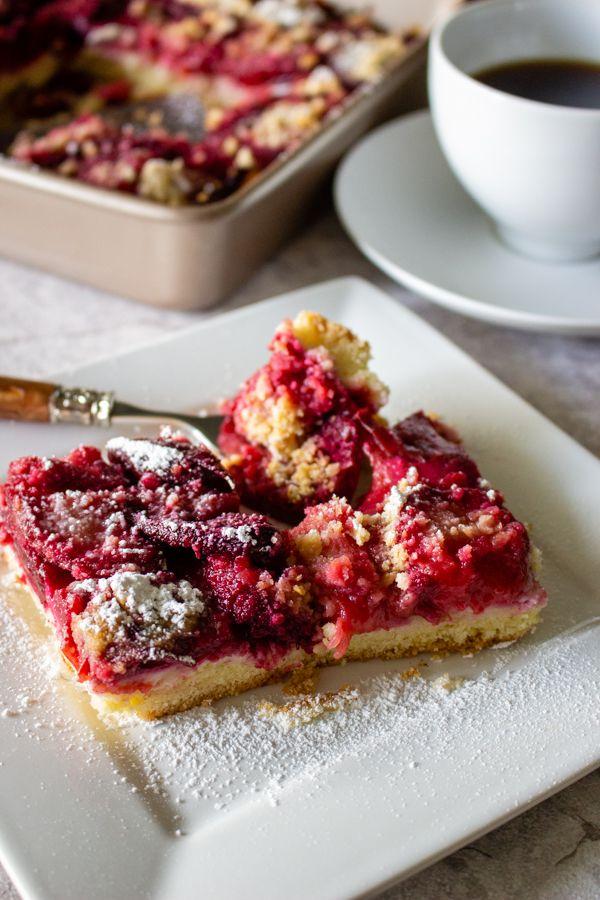 German Plum Kuchen  Pflaumenkuchen is a summer recipe that uses fresh plums in season. This ...