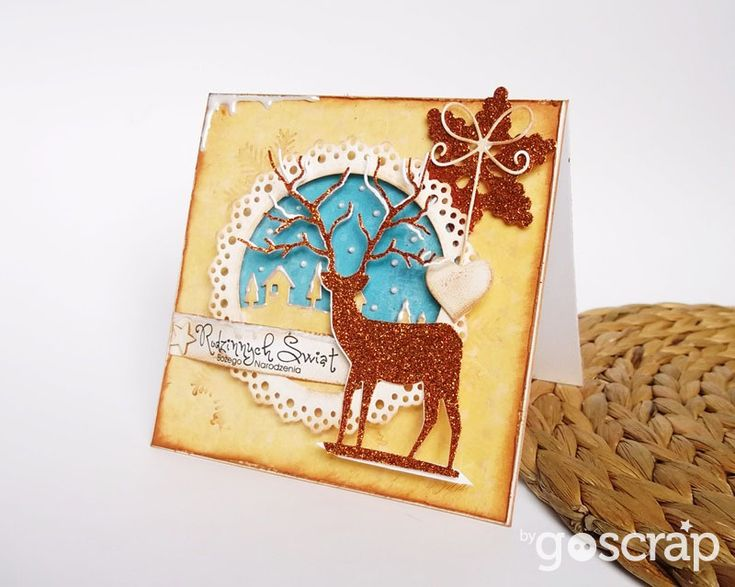 card by Ladybug #goscrap #scrapbooking #cardmaking #christmas