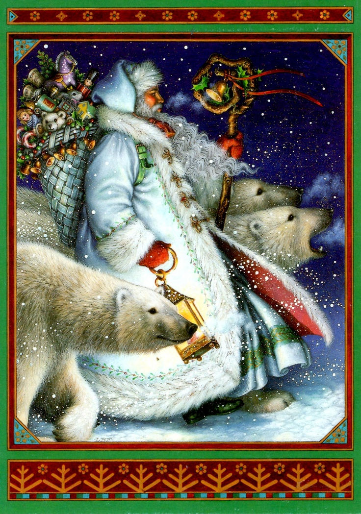 lynn bywaters ferris st nicholas and polar bears