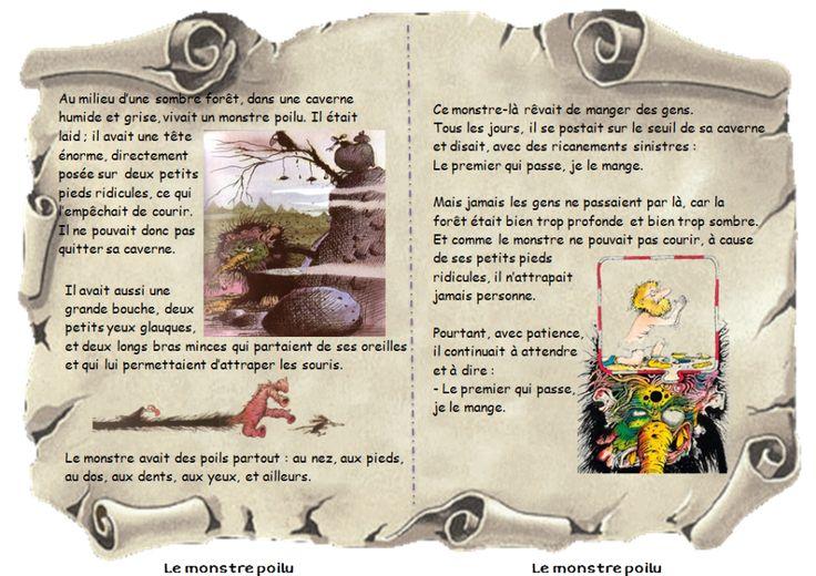 tapuscrit-le-monstre-poilu-texte-1-henriette-bichonnier-pef-cycle-2