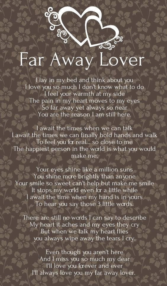 love poems for her long distance