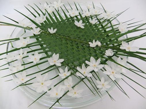 April showers bring May flowers floral art design