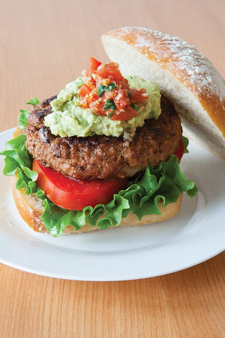 #Epicure Turkey Burger (330 calories/serving)