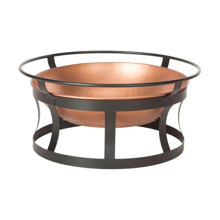 Recipiente de cobre y hierro para fogatas en el patio trasero   -   Copper and Iron Backyard Fire Pit http://www.dotandbo.com/category/kitchen-and-dining/cook-and-prep/grilling/32025-backyard-fire-pit?utm_source=Pinterest&utm_medium=HardPin&utm_campaign=7-14&utm_content=1988553&db_terms=cpc&db_dest=dynamic&db_unit=d&lb=force&MjAyM3w1MDU3fDE5ODg1NTN8NjQ3NGQ