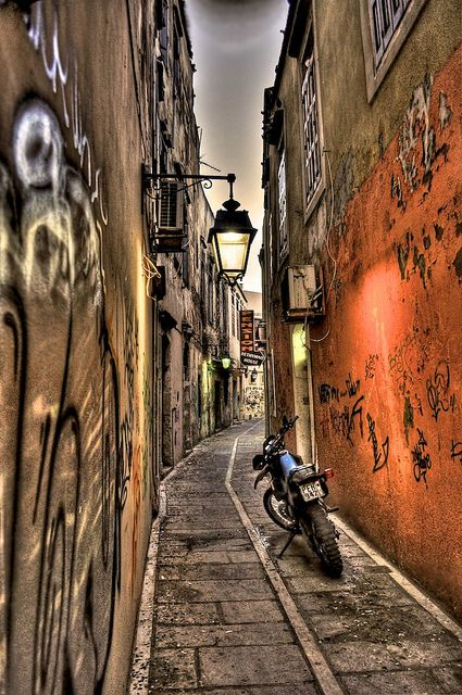 Rethimnon Old City Alley by Panos La, via Flickr