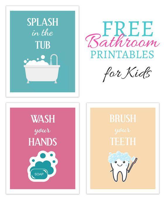 Best 25 Printable Kitchen Prints Ideas On Pinterest: 25+ Best Ideas About Bathroom Printable On Pinterest