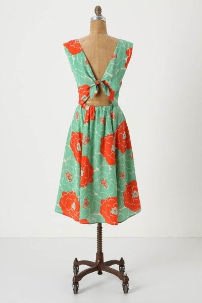 Summer colors, summer dress.