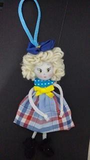 Cantinho da Patt: como fazer a boneca magrela de fuxico 3°parte