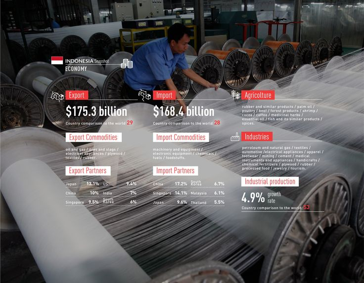 #Indonesia #snapshot #economy #oil #agricolture #industry #commodities #import #export http://www.abo.net/it_IT/info_interattiva/indonesia-snapshot/indonesia-snapshot-eng.html