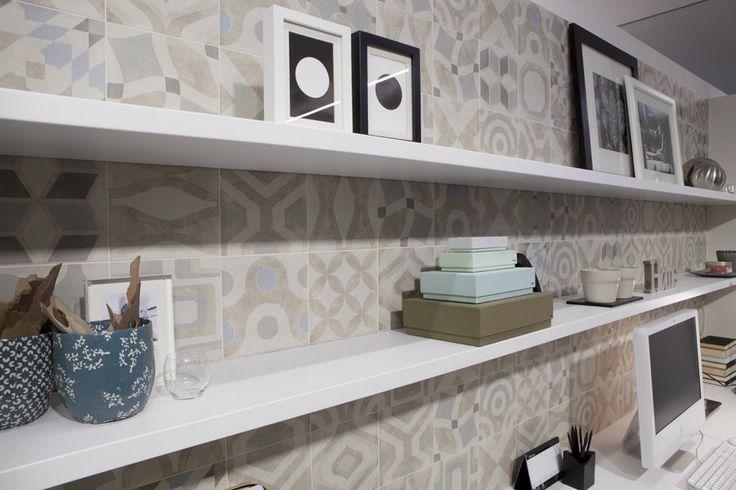 Showroom Cerim - Florim Gallery #florim #gallery #florimgallery #vintage #tiles #cerim #memory www.gasparinionline.it