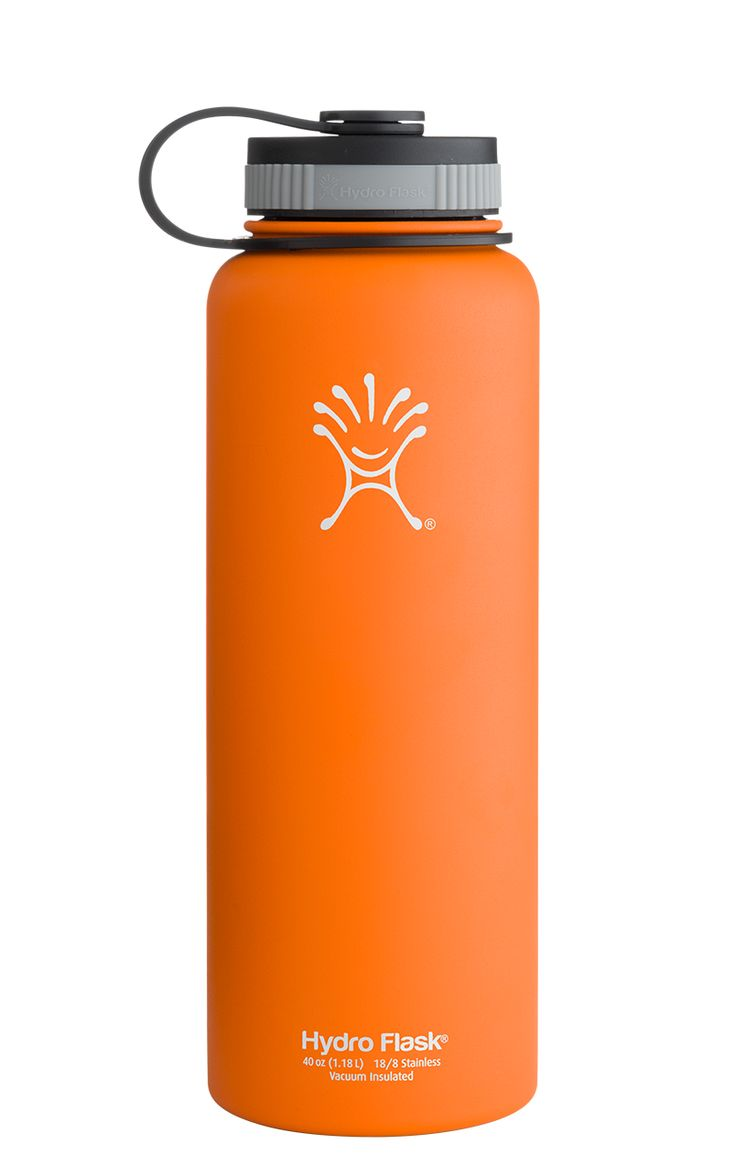 Hydro Flask; stainless steal: 40 oz Wide Mouth