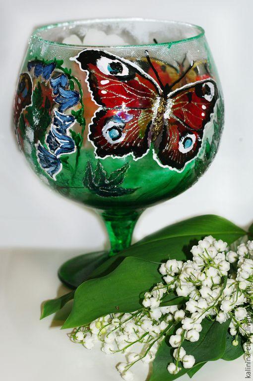 Бокал Бабочка