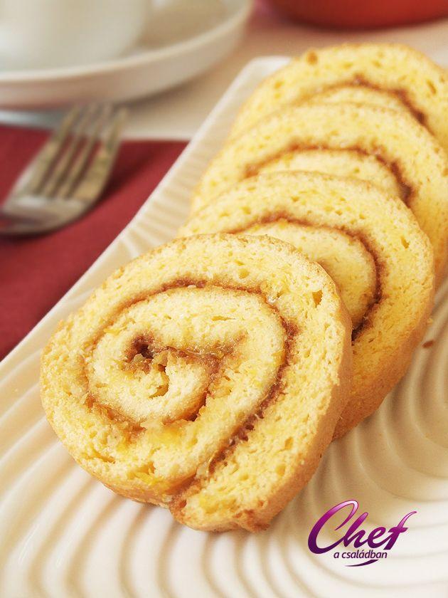 Piskótatekercs recept - Az Igazi! - Kedvenc Sütemények