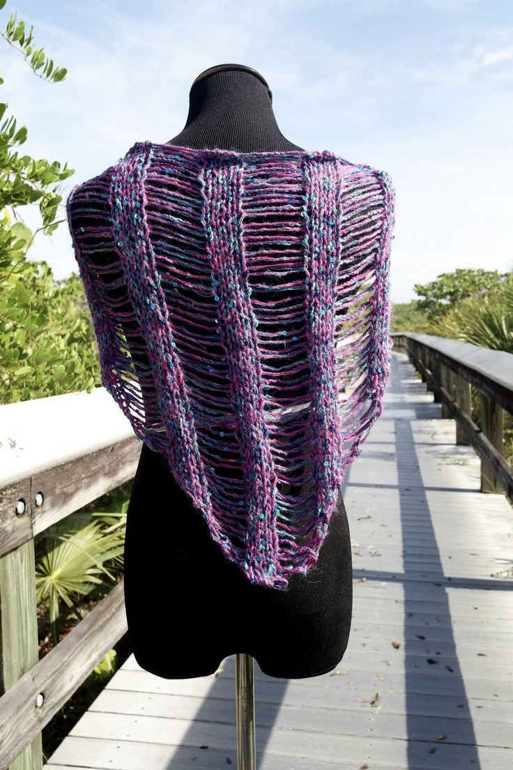 66 best free knitting patterns images on pinterest free knitting nov 7 be so wild knit drop stitch shawlette free pattern bankloansurffo Images