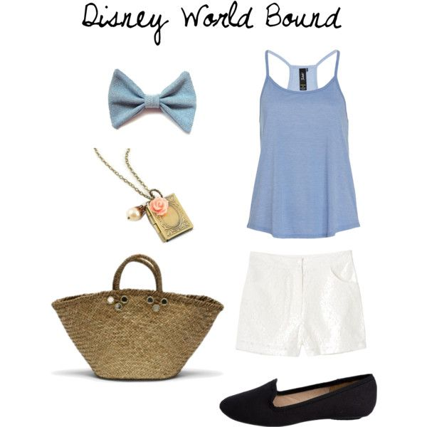 DWB - A comfortable Disney World outfit inspired by Belle