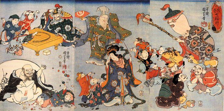Seven Gods of Good Luck in Japan